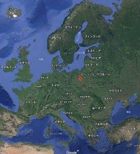 ポーランドの位置