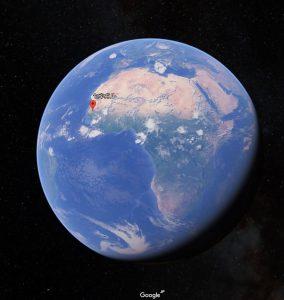 セネガルの場所の画像