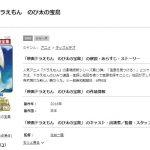 【映画】ドラえもん|のび太の宝島(3月1日)テレビ放送の見逃し動画を無料試聴する方法!再放送はある?