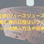 宮本佳林(ジュースジュース)の卒業公演の日程はいつ?チケットの購入方法や倍率も!
